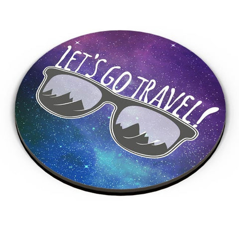 Let'S Go Travel Fridge Magnet Online India