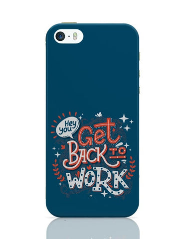 Get Back To Work iPhone Covers Cases Online India