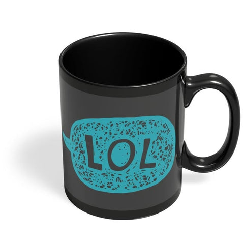 Lol Black Coffee Mug Online India