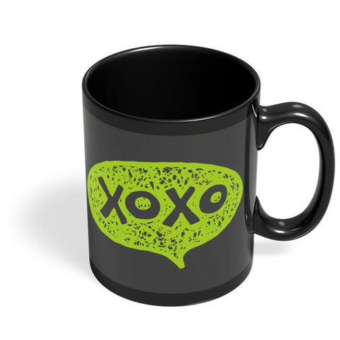 Xoxo Black Coffee Mug Online India
