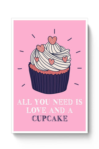 Buy Cupcake is Love! Poster