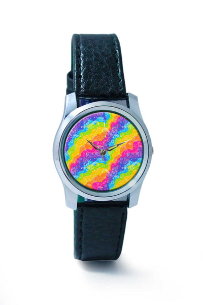 Women Wrist Watch India | Rainbow Doodle Wrist Watch Online India