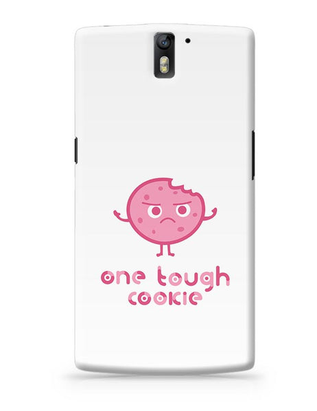 One Tough Cookie(white) OnePlus One Covers Cases Online India
