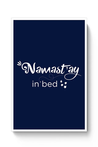 Buy Namastey In Bed Poster