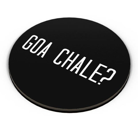 Goa Chale? Fridge Magnet Online India