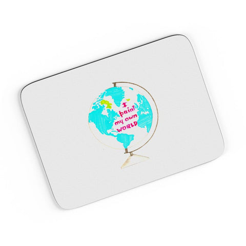 I Paint My Own World  A4 Mousepad Online India