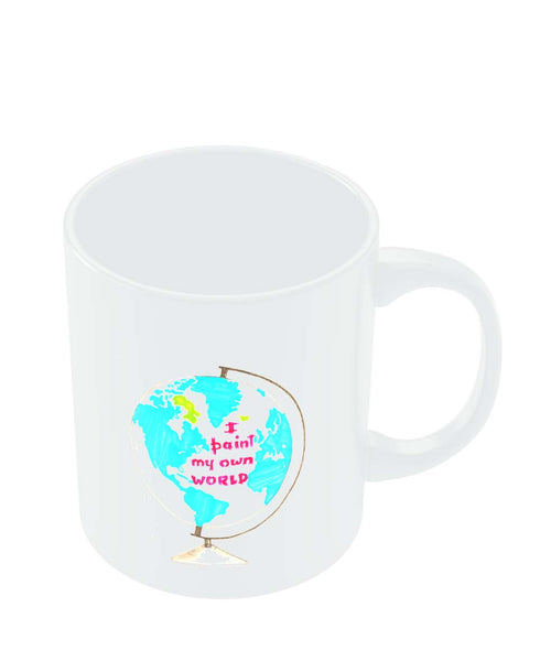 Coffee Mugs Online | I Paint My Own World Mug Online India