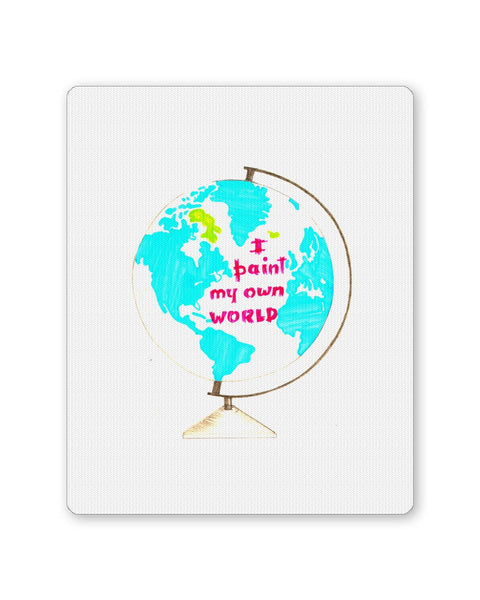 Buy Mousepads Online India | I Paint My Own World Mouse Pad Online India