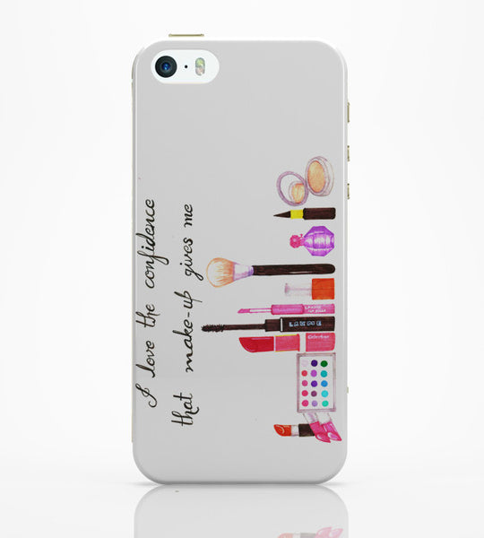 iPhone 5 / 5S Cases & Covers | I Love The Confidence Make-Up Gives Me iPhone 5 / 5S Case Online India
