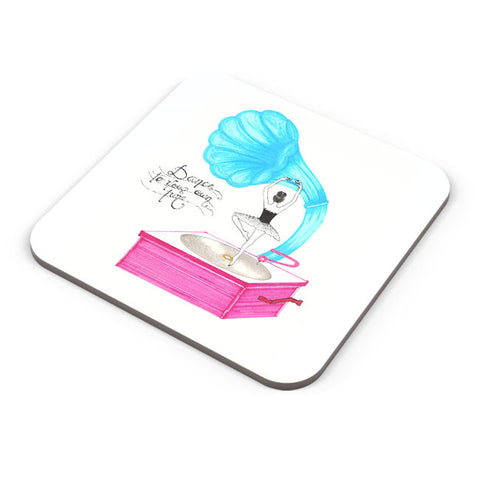 Buy Coasters Online | Dance To Your Own Tune Coaster Online India | PosterGuy.in