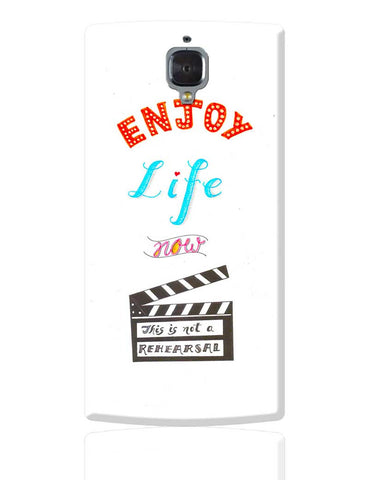 Enjoy Life OnePlus 3 Cover Online India