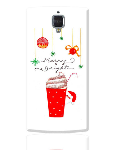 Merry & Bright OnePlus 3 Cover Online India