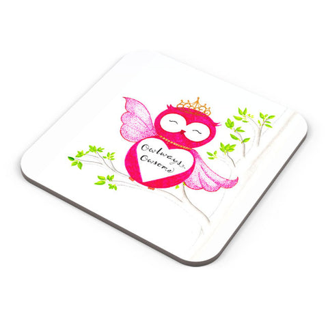 Buy Coasters Online | Owl ways Owesome Coaster Online India | PosterGuy.in