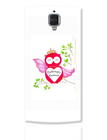 Owlways Owesome OnePlus 3 Cover Online India