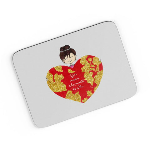 You Are My World A4 Mousepad Online India