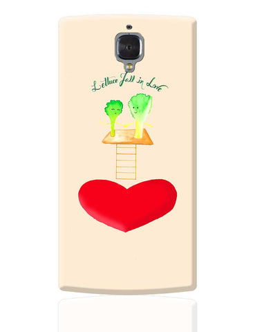 Lettuce Love OnePlus 3 Cover Online India