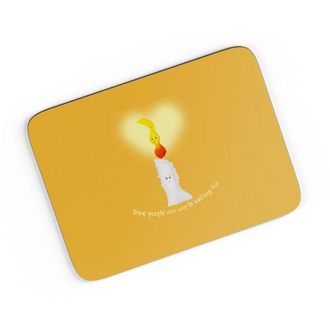 Candle Light Love A4 Mousepad Online India