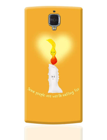 Candle Light Love OnePlus 3 Cover Online India