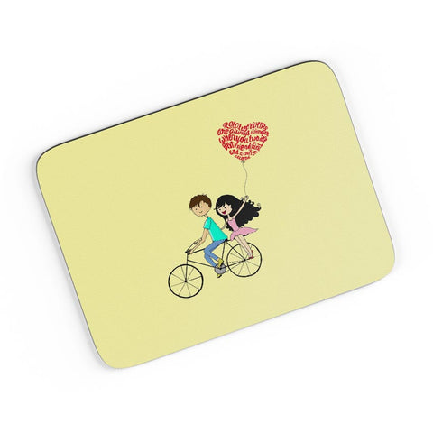 Best Friend Couple A4 Mousepad Online India
