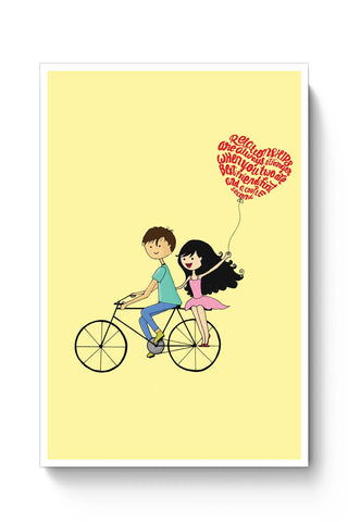 Posters Online | Best Friend Couple Poster Online India | Designed by: Pranjali's Artavia