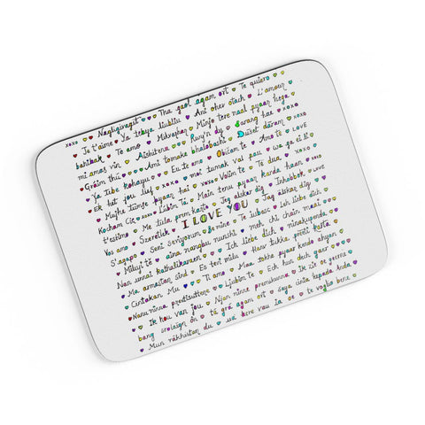 Language Of Love A4 Mousepad Online India