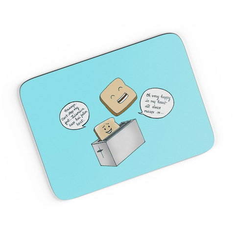 Dancing Toast A4 Mousepad Online India