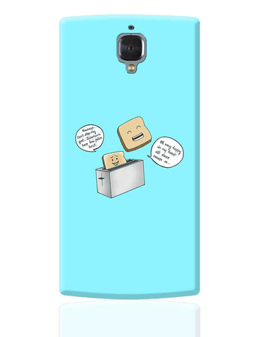 Dancing Toast OnePlus 3 Cover Online India