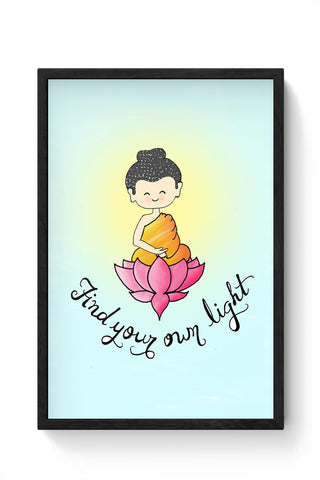 Little Buddha Framed Poster Online India