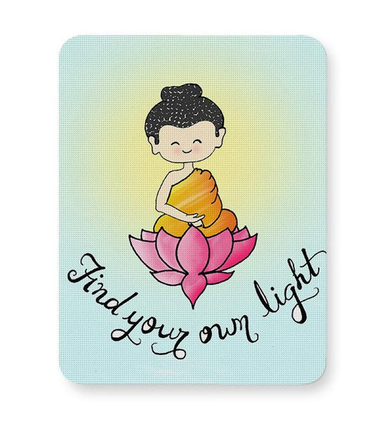 Little Buddha Mousepad Online India