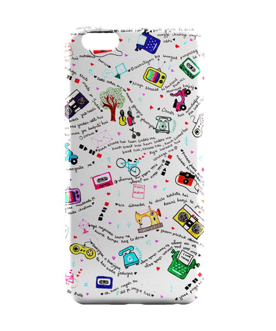 iPhone 6 Cases | Bollywood Lyrics Collage iPhone 6 Case Online India