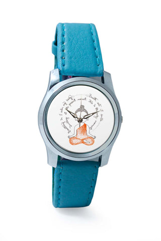 Women Wrist Watch India | Lord Buddha Spiritual Advice Wrist Watch Online India