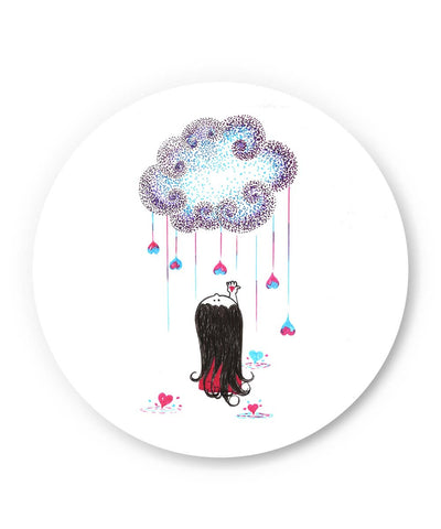 PosterGuy | The Floral Dream Illustration Fridge Magnet Online India by Sayli
