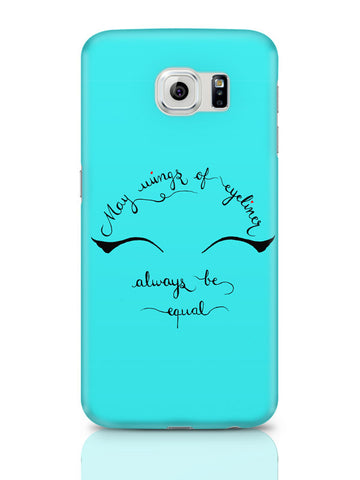 Samsung Galaxy S6 Covers | May Wings Of Eyeliner Always Be Equal Samsung Galaxy S6 Cover Online India