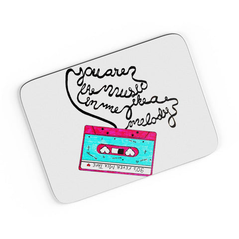 Music Love | 90'S Music Tape A4 Mousepad Online India