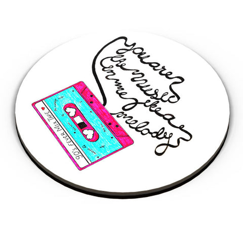 PosterGuy | Music Love | 90'S Music Tape Fridge Magnet Online India by Sayli