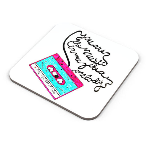 Buy Coasters Online | Music Love | 90'S Music Tape Coaster Online India | PosterGuy.in