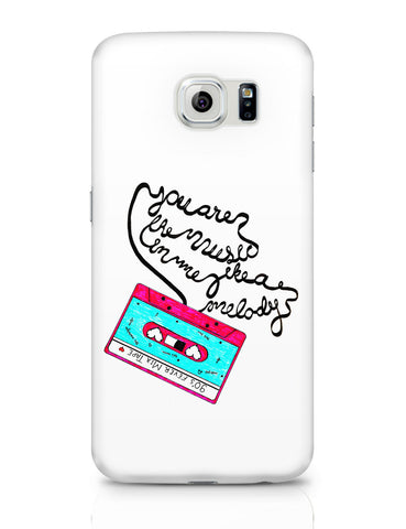 Samsung Galaxy S6 Covers | Music Love | 90'S Music Tape Samsung Galaxy S6 Covers Online India