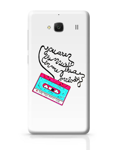 Xiaomi Redmi 2 / Redmi 2 Prime Cover| Music Love | 90'S Music Tape Redmi 2 / Redmi 2 Prime Cover Online India