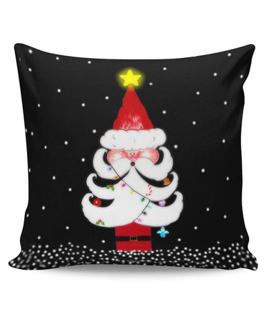PosterGuy | Cute Santa Tree Cushion Cover Online India