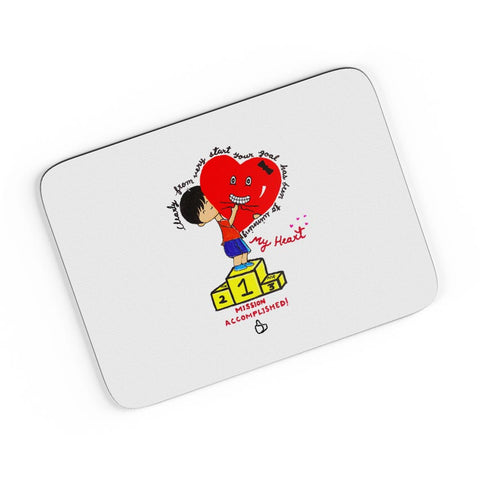 Heart Trophy A4 Mousepad Online India