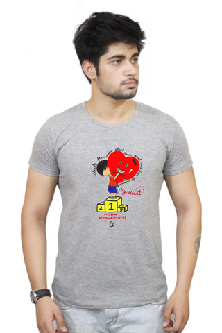 Buy Heart Trophy T-Shirts Online India | Heart Trophy T-Shirt | PosterGuy.in