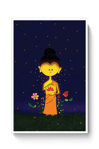 Whimsical Buddha Poster Online India