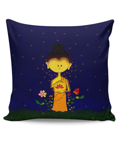 Whimsical Buddha Cushion Cover Online India