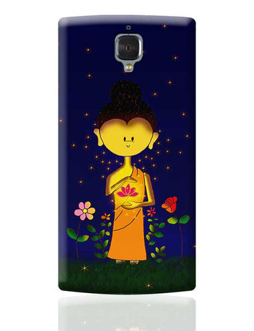 Whimsical Buddha OnePlus 3 Covers Cases Online India