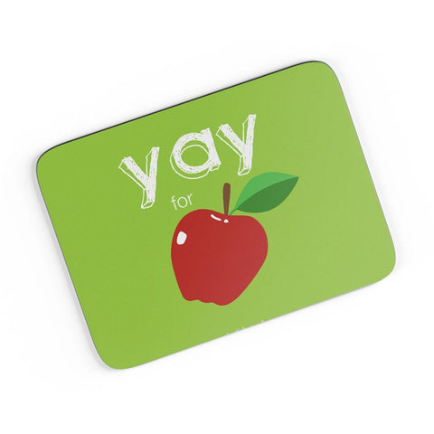 Yay for Apple Yinglish Crash Course A4 Mousepad Online India
