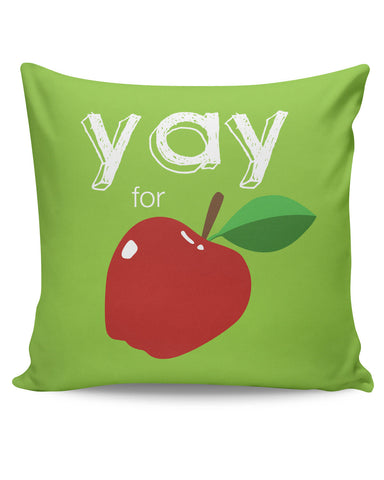 PosterGuy | Yay for Apple Yinglish Crash Course Cushion Cover Online India