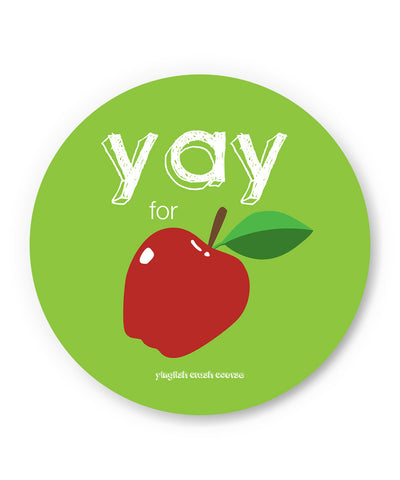 PosterGuy | Yay for Apple Yinglish Crash Course Fridge Magnet Online India by Harjot Sokhey