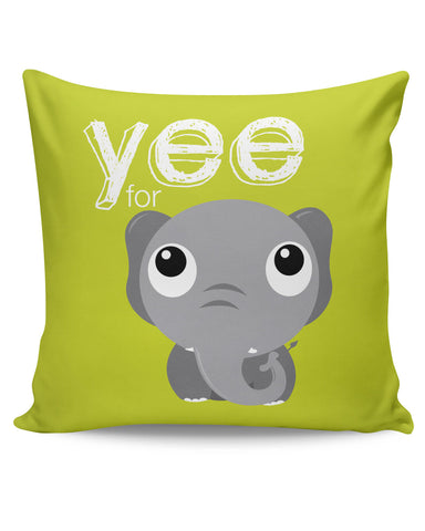 PosterGuy | Yee For Elephant Yinglish Crash Course Cushion Cover Online India