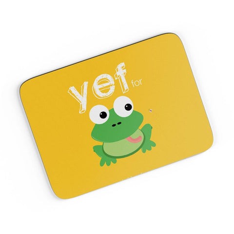 Yef For Frog Yinglish Crash Course A4 Mousepad Online India