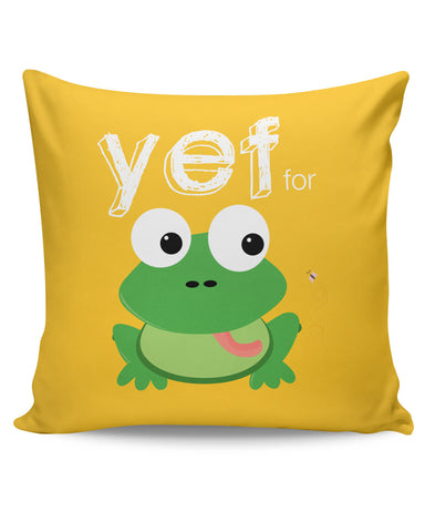 PosterGuy | Yef For Frog Yinglish Crash Course Cushion Cover Online India